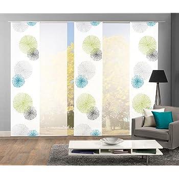 home fashion schiebegardinen set capitol in verschiedenen set gr en 3er 4er 5er. Black Bedroom Furniture Sets. Home Design Ideas
