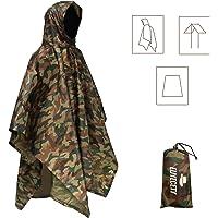 Euyecety Poncho Impermeabile, Multifunzionale Stuoia Campeggio Coperta da Picnic con Sustodia per All'aperto Picnic…