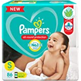 Pampers New Diapers Pants, Small, 86 Count
