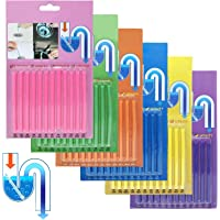 Sani Sticks Flying swallow Drain Sticks (72 pcs) Keeps Drains and Pipes Clear and Odor Cleaning Tool Tub Decontamination…