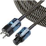 High-end Power Kabel Netsnoer Audio AC Versterking Kabel AC Kabel HiFi Netsnoer Professionele 2M