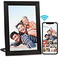 AEEZO WiFi Digital Picture Frame 9 Inch IPS Touch Screen HD Display, Auto-Rotate, Free Unlimited Storage Easy Setup to…
