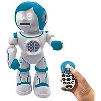 Powerman Kid-Robot éducatif Bilingue Parlant Français et Anglais avec Télécommande Joystick-Jouet Programmable, Dance…