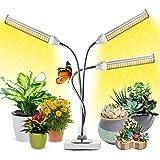 Lampe pour Plantes Interieur, 2021 Nouvelle Garpsen 315 LEDs Lampe LED Horticole, Chronométrage AUTO - ON/OFF, 3 Heads Spectr