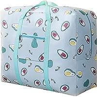 Grand sac de rangement de 31 L, sac à vêtements en tissu, épais et ultra taille sous le lit, résistant à l'humidité
