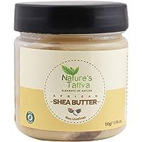 Nature's Tattva Organic Raw Unprocessed Shea Butter, 50g
