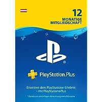 PlayStation Plus Mitgliedschaft | 12 Monate | österreichisches Konto | PS4 Download Code