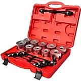 SavingPlus 27pcs Press and Puller Sleeve Tool Set Kits Seal Bearing Cars HGV LGV Removal Bush 72769