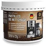 250pastilles de nettoyage Coffeeano pour machines à café Clean&Protect. Pastilles de nettoyage compatibles avec les machines