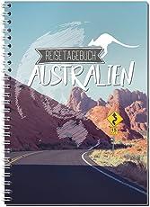 Reisetagebuch Australien zum Selberschreiben / Notizbuch A5 Ringbuch mit 120 Seiten / Packliste, Reiseplan, Zitate, Fun Facts, spannende Reise-Challenges - Von Sophies Kartenwelt