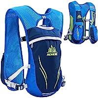 TRIWONDER Ultraleicht Trinkrucksack, 5.5L Laufrucksack, Trailrunning Rucksack, Hydration Pack im Freien, Rucksack Outdoor für Laufen, Marathon, Radfahren