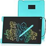 HOMESTEC Tableta Escritura LCD Color, Pizarra Digital para Apuntar Recordatorios , Escribir o Dibujar (12 Pulgadas, Azul)