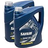 Mannol 1 X 20l Safari 20w 50 Api Cf Universal Motoroel Oldtimer Auto