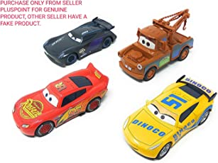 PLUSPOINT Metal Master Cars3 Die Cast with Pull Back Function - Set of 4
