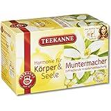 Teekanne Muntermacher Kräuterteemischung 20 Beutel, 2er Pack (2 x 40 g Packung)