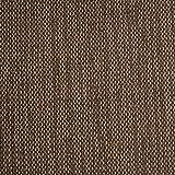Miami - tessuto da tappezzeria / da imbottitura - strutturato, opaco alla luce & resistente - stoffa/tessuto al metro (marrone)