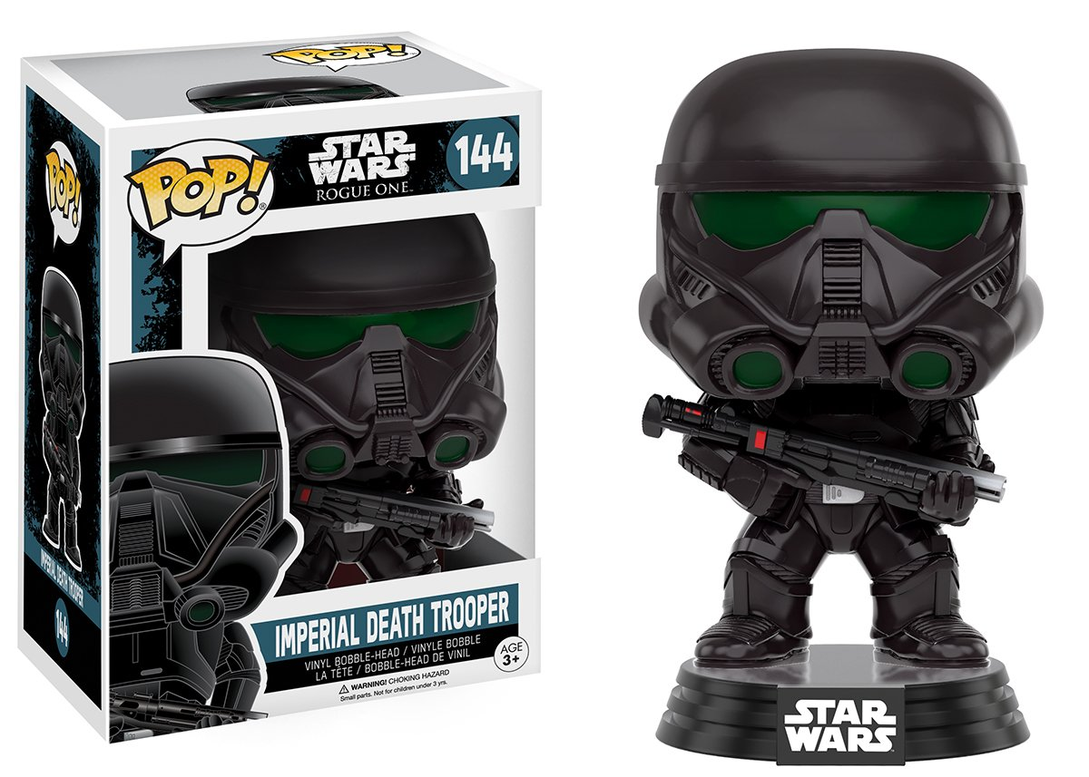 Funko Pop Imperial Death Trooper (Star Wars 144) Funko Pop Rogue One (Star Wars)