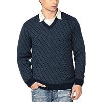 Aarbee Men's Blended Sweater (Navy)