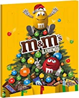 M&M's & Friends Calendrier de l'Avent Chocolat Noël - 361g