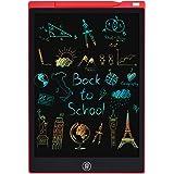 Tavoletta Grafica LCD Scrittura, 12 Pollici Lavagna da Disegno Digitale Portatile PINKCAT Ewriter Cancellabile Disegno Pad Wr