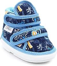 CHiU Chu-Chu Blue Shoes with Double Strap for Baby Boys & Baby Girls