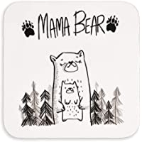 Gift for her | Mama Bear Coaster for cup mug glass | for Mum | for mothers day birthday or christmas from son or…