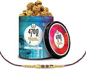 4700BC Himalayan Salt Caramel Popcorn, 110g with Free Rakhi