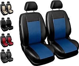 Sitzbezüge Auto Vordersitze Universal Autositzbezüge Schonbezüge Vorne mit Airbag System Comfort - Blau