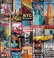 d-c-fix, Folie, Design Manhattan, selbstklebend, Rolle 67,5 cm x 200 cm von Hornschuch - TapetenShop