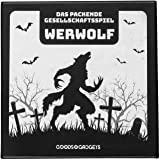 Original Werwolf Kartenspiel Deluxe Partyspiel mit Erweiterung - Werwölfe Rollenspiel Klassiker - 45 Karten Edition mit 30 ve