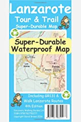 Lanzarote Tour & Trail Super-Durable Map Paperback