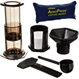 Aerobie AeroPress, Kaffeeautomat mit Aufbewahrungsbeutel, schwarz, It Makes 1 to 4 Cups of Coffee or Espresso