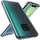 Huawei Mate 20 Pro Case Cover, Clear Back Panel, Clear Bumper
