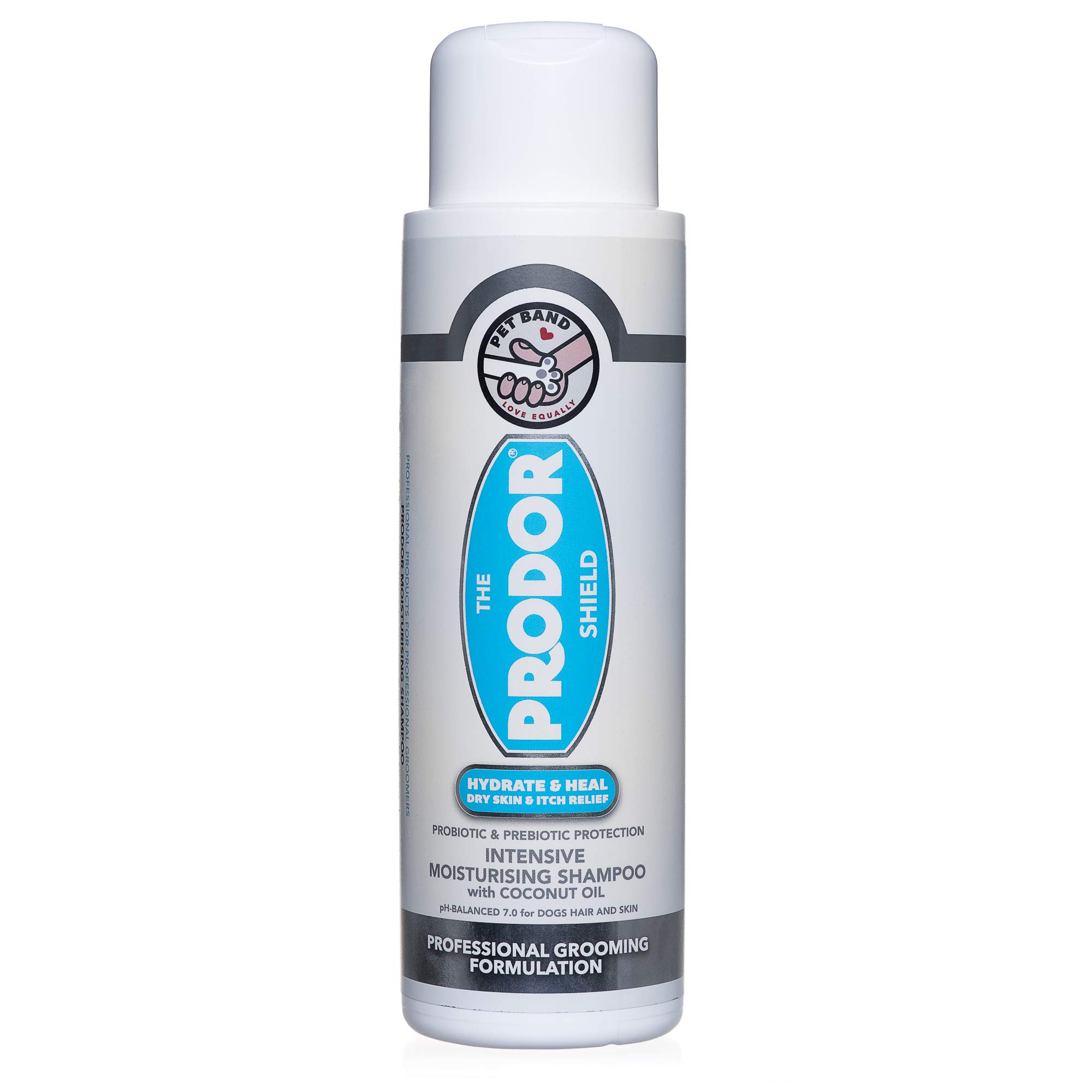 PRODOR Prebiotic Natural Dog Shampoo – for Dogs with Dry Skin & Sensitive Skin | A Natural Dog Oatmeal Bath | Dog Probiotics Moisturise Skin & Cleanse Hair | Coconut & Vanilla | Hypoallergenic 473ml