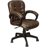 GTB Mid Back Revolving Office Chair BT-321-BROWN