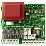 Nologo Universal centrale schijf voor automatische knoppen met 1/2 deuren START-S4XL Came FAAC BFT Nice ECC, zwart