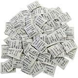 ECYC Bustine di Sacchetti di Gel di Silice Sacchetto di Essiccante Sacchetto Piccolo 100 Pacchetti