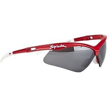 Spiuk Ventix - Gafas de ciclismo unisex, color rojo