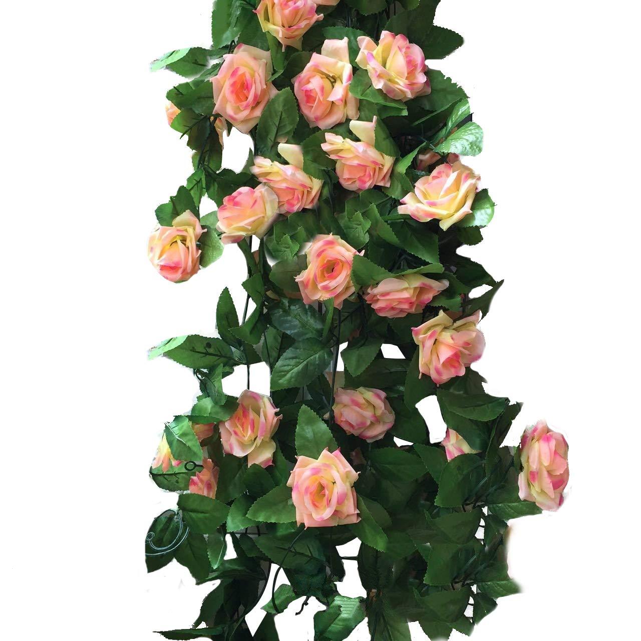 Meiliy confezione da 2 piante rampicanti artificiali con for Piante rampicanti finte