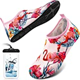 DigiHero Water Shoes for Women and Men, Quick-Dry Aqua Socks Barefoot for Outdoor Beach Swim Surf Yoga Exercise.