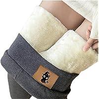 Collant da donna, caldo, invernale, foderati, leggings in pile, pantaloni opachi, ideali per il tempo libero, pantaloni…