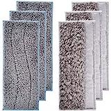 WuYan Lot de 6 tampons de nettoyage lavables pour IRobot Braava Jet M6, comprend 3 tampons humides et 3 tampons de nettoyage