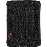 Buff Men's Rutger Knitted Neckwarmer, Graphite, One Size