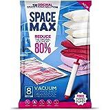 SPACE MAX Sacs de Rangement sous Vide géants de qualité supérieure (80% en Plus de Compression par rapports aux Sacs concurre