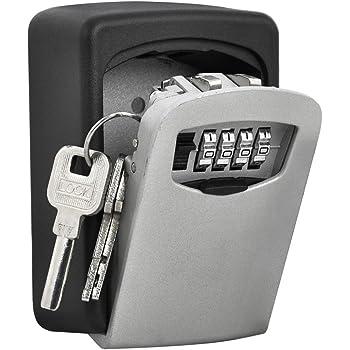 Bybo Boîte De Rangement Mural Safe Key Murale à 4 Chiffres Clés