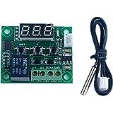DollaTek - 50-110 ° C W1209 DC-12 V digitale mini-thermostaat, temperatuurregelaar, bedieningspaneel-sensormodule