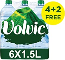 Volvic Natural Mineral Water 1.5L 4+2 FREE