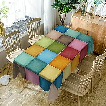 homescapes tischdecke multi stripes bunt gestreift 140 x 180 cm aus 100 reiner baumwolle. Black Bedroom Furniture Sets. Home Design Ideas