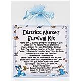 District Nurse Survival Kit -Fun Novelty Gift & Card Alternative/Birthday/ Keepsake /Thank You/District Nurse Gift