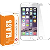 OpenTech® Tempered Glass Screen Protector for iPhone 6 or iPhone 6s or iPhone 7 or iPhone 8 with Installation kit (Full…